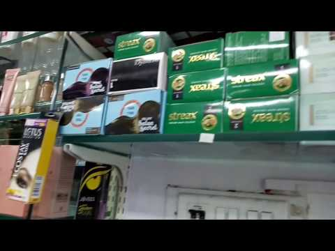 Cosmetics shop display in Mumbai