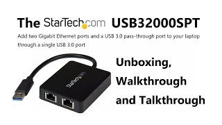 Add Dual RJ45 LAN ports to your Laptop and PC for better NAS Access with the Startech USB32000SPT
