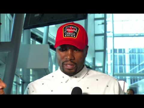 Serge Ibaka with NBA TV Canada - July 7, 2017