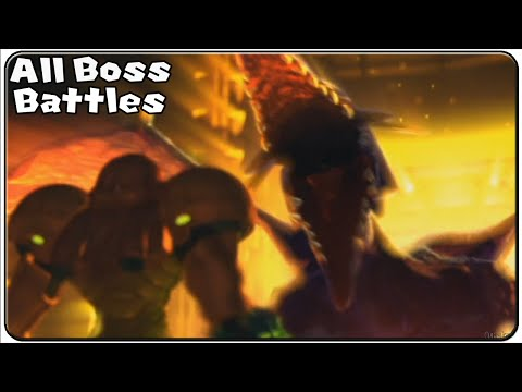 Metroid other M All Bosses