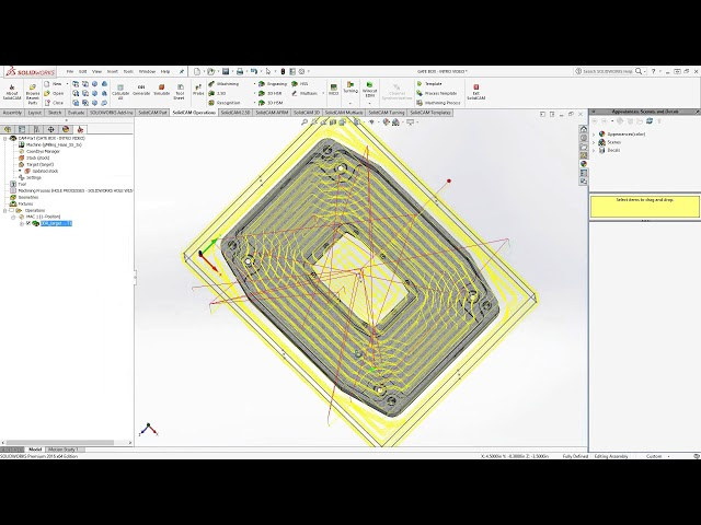 3D Milling Toolpath