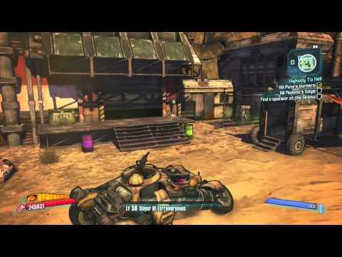 How to Start Mr Torgue's Campaign of Carnage -  Borderlands 2 DLC 2 |