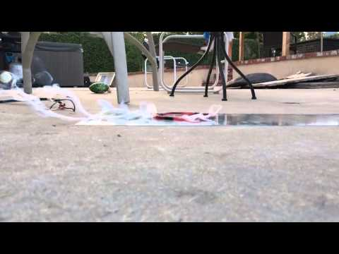 Induction Coil Levitation Test  (Fail)