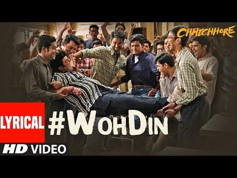 Download Lagu  ARIJIT SINGH: Woh Din al | Chhichhore | Sushant, Shraddha | Pritam, Amitabh Mp3 Free
