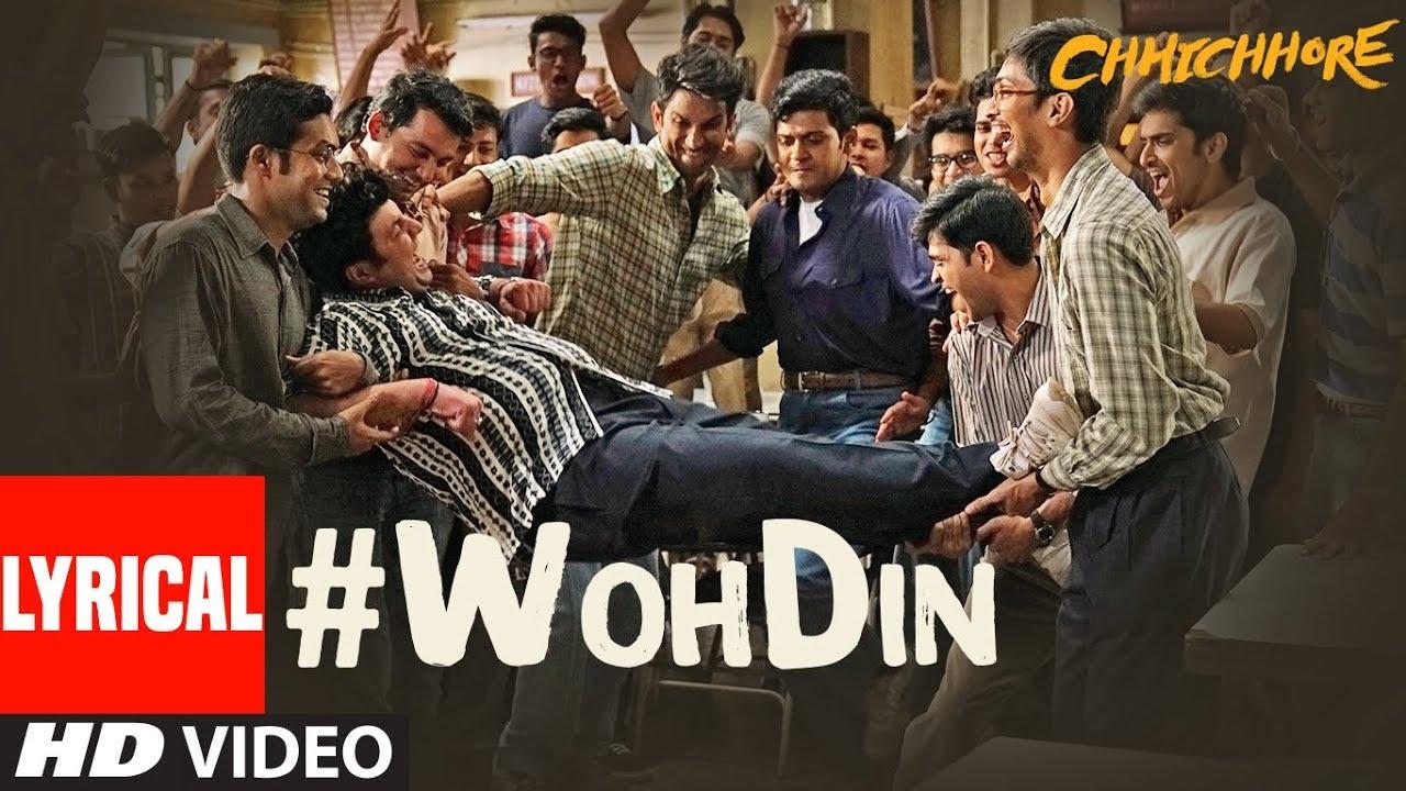 Download ARIJIT SINGH: Woh Din Lyrical | Chhichhore | Sushant, Shraddha | Pritam, Amitabh