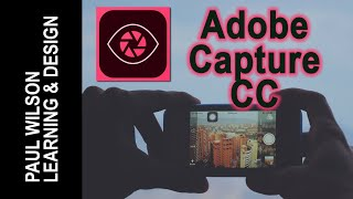 Adobe Capture CC - A First Look Adobe Capture CC