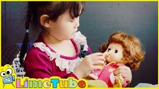 라임이의 쫑알쫑알 말많은 똘똘이 인형 장난감 엄마 놀이 LimeTube & Toy 라임튜브