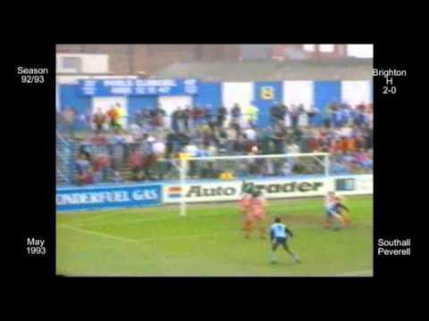 1992 - 93 45 W Brighton - Southall Peverell