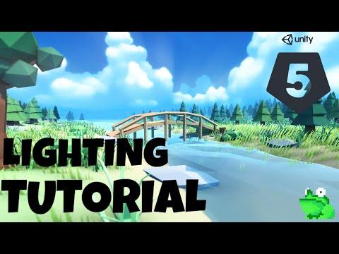 Unity 5 Lighting Tutorial | Mr. Frog Games