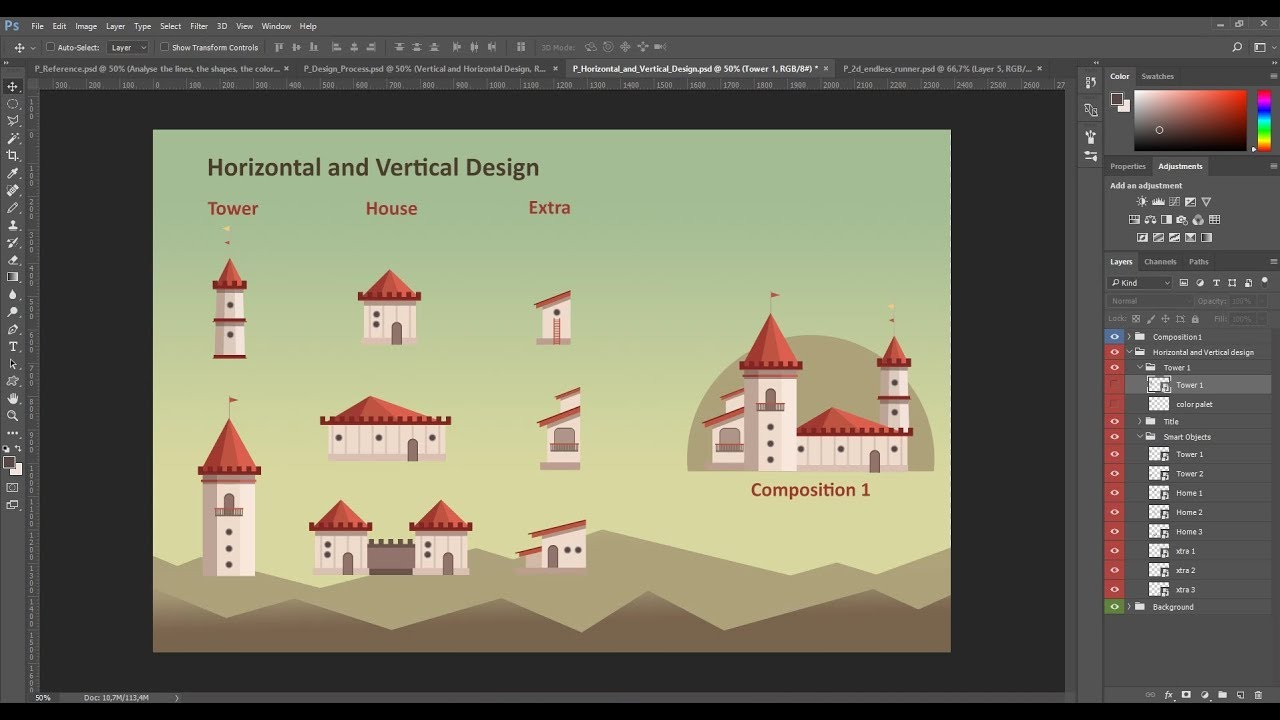 Game graphic design tutorial: learn to create digital 2d game.