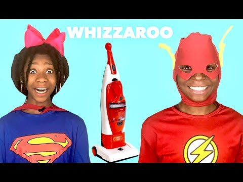 The Flash and Supergirl how to clean quickly in real life