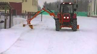 Оборудование для содержания дорог РЗ 129 и ОРС 30 01(Оборудование навесное для содержания автомобильных дорог ОРС-30., 2012-07-17T08:47:48.000Z)