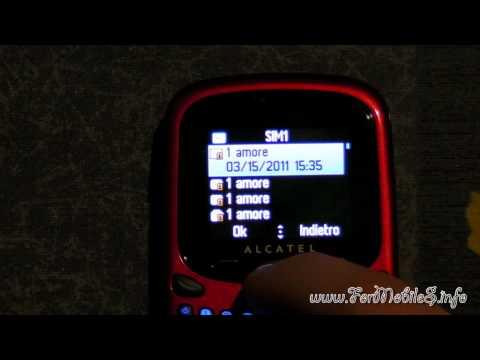 Demo SMS Bombing - Alcatel OT-255D