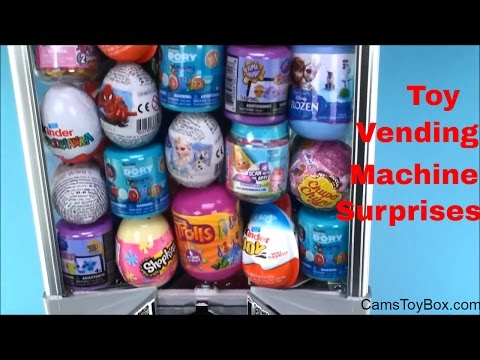 Toy Vending Machine Surprises Fashems...