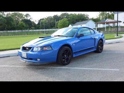 Nasty 2003 Mustang Mach 1 Azure Blue Youtube