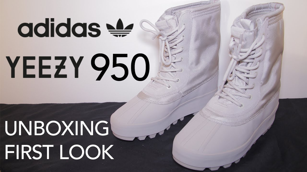 b008fc22abe Adidas Yeezy 950 | Unboxing | First Look | Close Ups