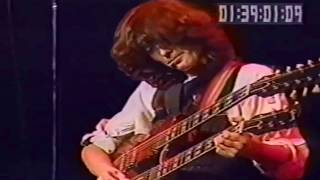 Jimmy Page - Stairway To Heaven (Inst) - With Jeff Beck & Eric Clapton - MSG -1983.12.08