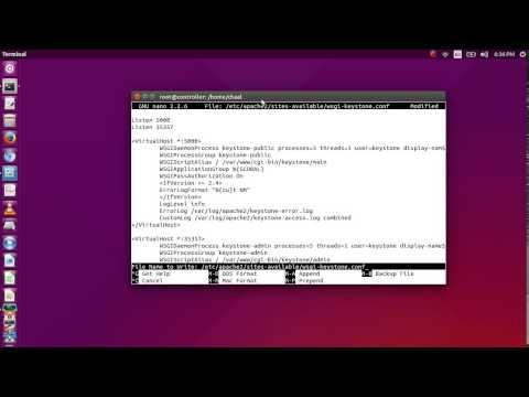 OpenStack Kilo: Installation on Ubuntu 15.04 ( Identity Service - Keystone )