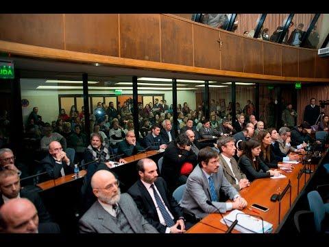 Condenaron a Enrique Mathov, Rubén Santos y otros siete acusados en el juicio oral por los hechos del 20 de diciembre de 2001