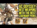 Assassin's Creed Odyssey Best Weapons With The BEST PERKS (AC Odyssey Best Weapons)