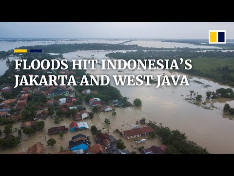 Severe flooding hits West Java and Jakarta in Indonesia