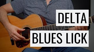 Snappy DELTA BLUES Lick in 7 minutes