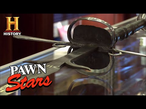 Pawn Stars: German Two-Handed Sword | History