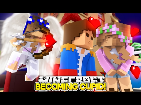 LITTLE CARLY BECOMES CUPID AND MAKES HER FAMILY FALL IN LOVE (Minecraft Roleplay)