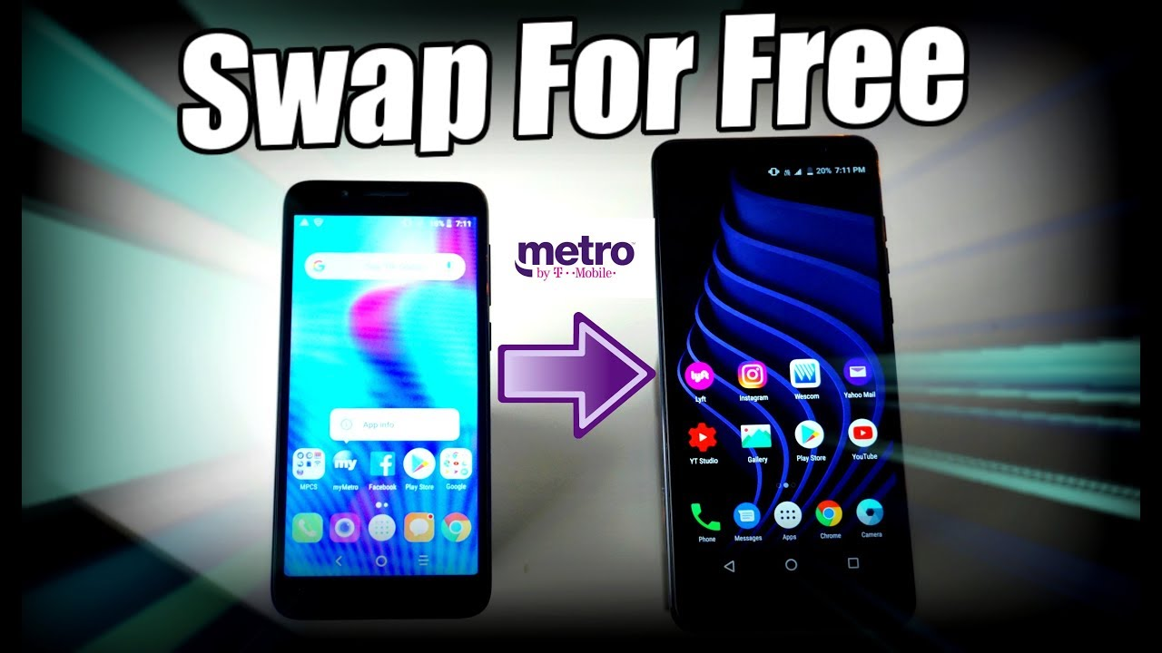How To Swap Metro By T Mobile Phone Free Youtube