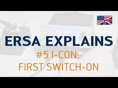 Ersa Explains #5 – I-CON: First Switch-on