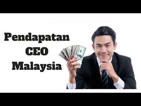 Gaji CEO Malaysia