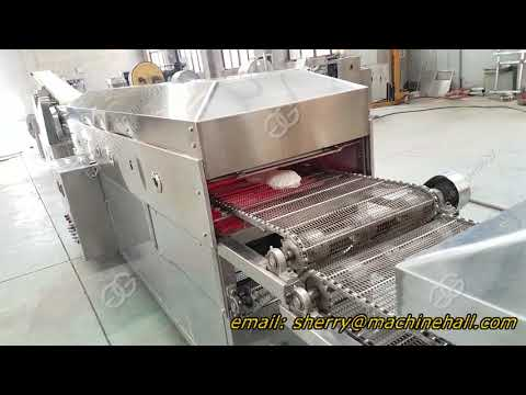 Fully Automatic Tortilla Production Line Working Video
