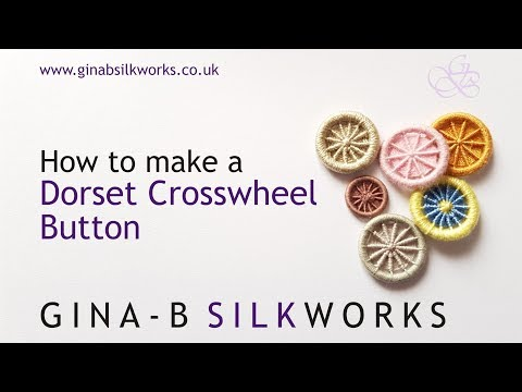 How to Make a Dorset Crosswheel Button
