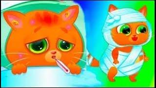 Мой маленький котик Буббу! мультфильм игра! #игровой мультик для самых маленьких детей.