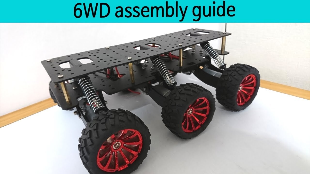 Goddog wd robot chassis full guide arduino rescue