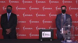 Full Drawing: WNBA Draft Lottery 2021 Presented By State Farm