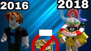 2015-2018 (rip Tix ) Roblox Avatar Evolution