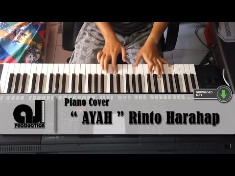 AYAH - RINTO HARAHAP ( Piano Cover by AJ ) 2016