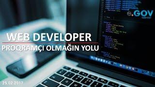 """""""Web Developer"""" – proqramçı olmağın yolu"""" Ödənişsiz Seminar 25 02 2017"""