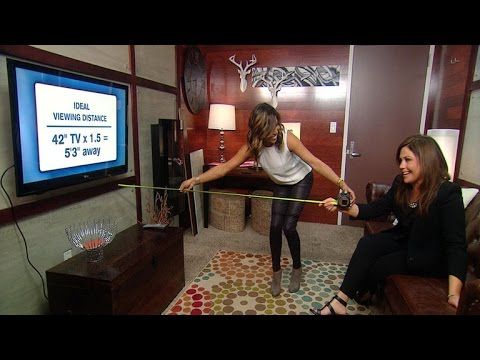 How To Measure The Right Distance Between Your TV And