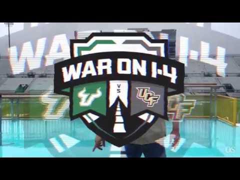 UCF vs. USF: The War on I-4