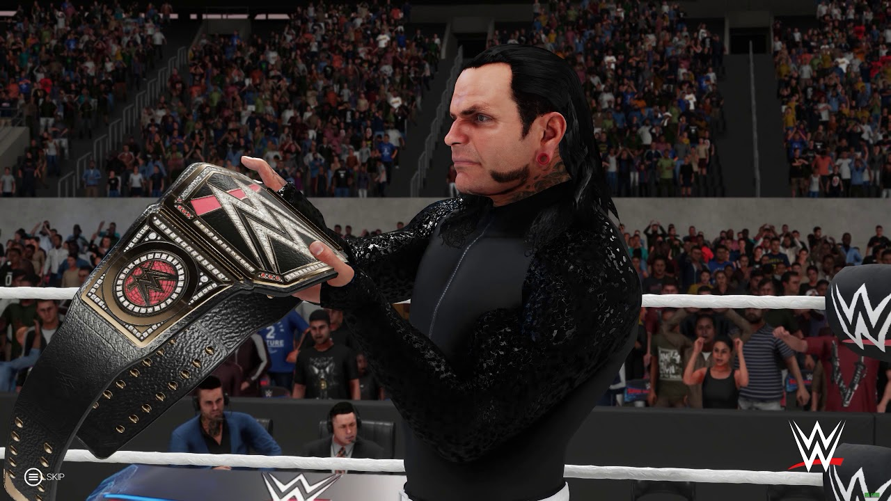 WWE 2K19 Undertaker vs Jeff Hardy WWE Championship SuperShowdown 1440p