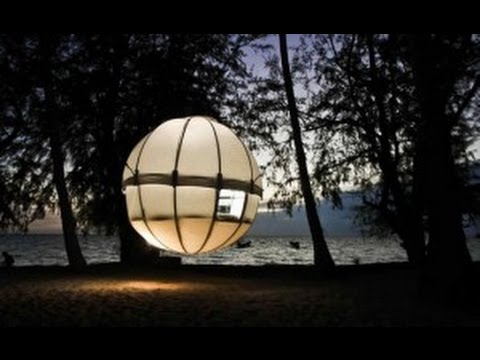 Cocoon Tree: A Lightweight, Spherical Treehouse for Sustainable Living