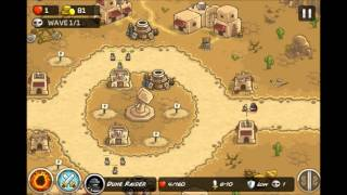 Kingdom Rush Frontiers - Iron Challenge Hammerhold - Level 1