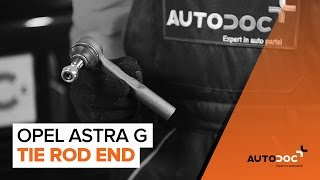 Watch the video guide on OPEL ASTRA G Hatchback (F48_, F08_) Brake caliper support bracket replacement