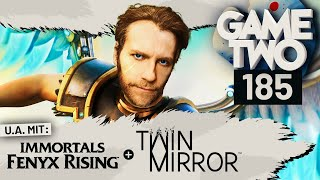 Immortals Fenyx Rising, Twin Mirror, Zombies Ate My Neighbors | Game Two #185