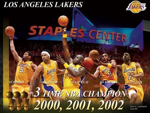 2001 02 Los Angeles Lakers Championship Movie Youtube