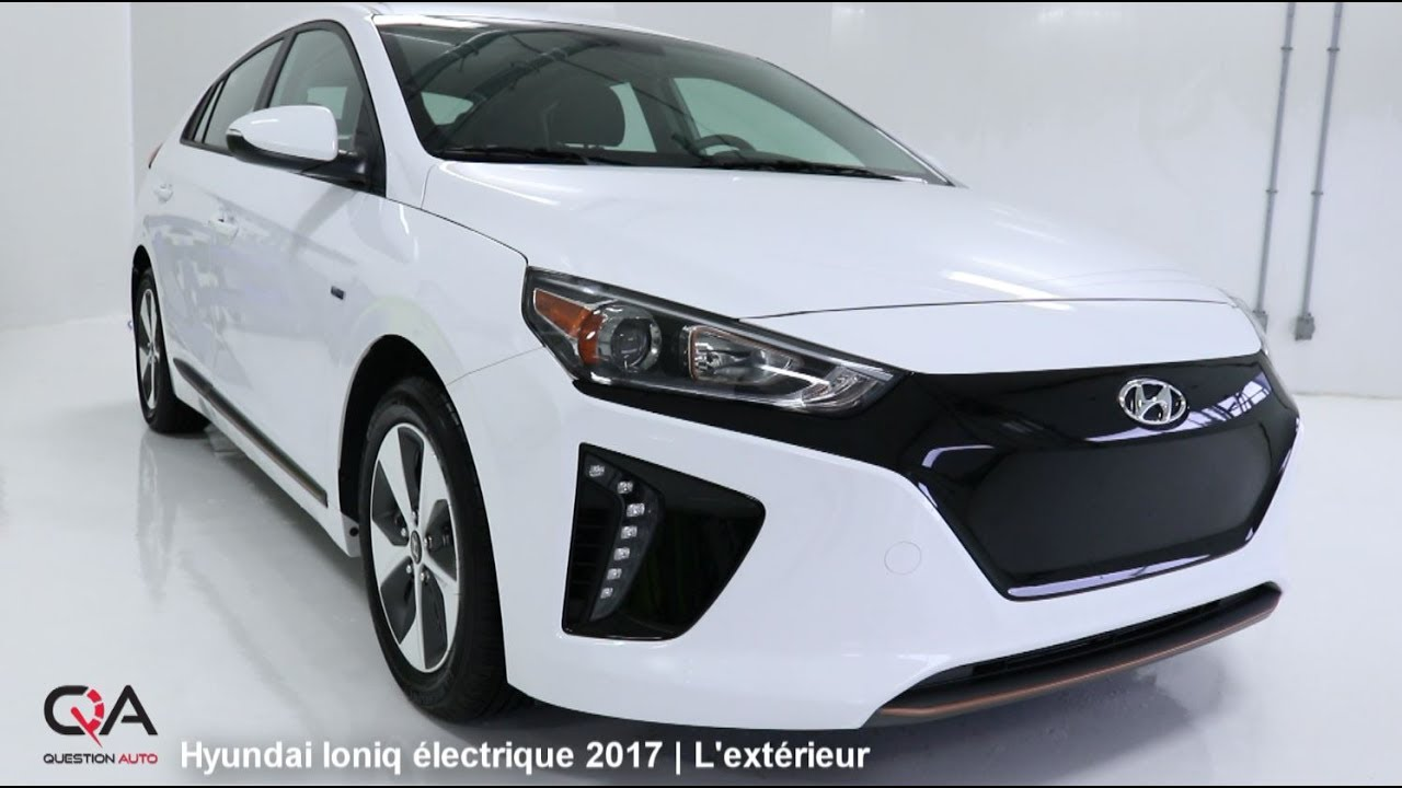 2017 hyundai ioniq lectrique l ext rieur essai complet 1 7 youtube. Black Bedroom Furniture Sets. Home Design Ideas