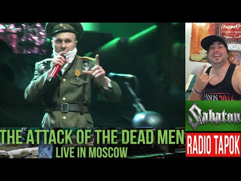 """Sabaton - The Attack Of The Dead Men (Feat. RADIO TAPOK) """"Live In Moscow"""" (LED Reacts....Holy Cow!)"""