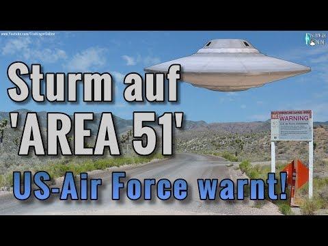 Sturm auf die Area 51: jetzt warnt die US Air Force alle UFO-Fans